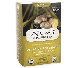 Numi Decaf Ginger Lemon Tea Photo