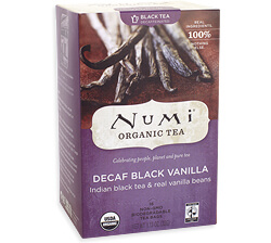 Numi Decaf Black Vanilla Tea Photo