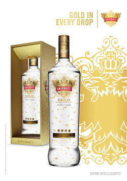 Smirnoff Gold Vodka Photo