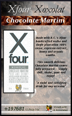 XFour Xoxolat Chocolate Martini Photo