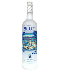 Van Gogh Blue Triple Wheat Vodka Photo