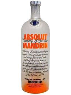 Absolut Mandarin Vodka Drink Recipes