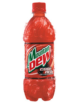 Mountain Dew Code Red Photo