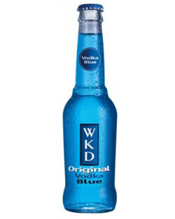 WKD Original Vodka Blue Photo