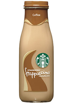 Starbucks Bottled Coffee Frappuccino Coffee Drink Photo