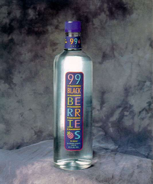 99 Blackberries Schnapps Photo