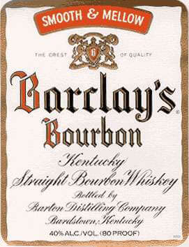 Barclay's Bourbon Whiskey Photo